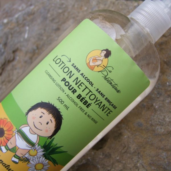 Chamomille and calendula baby cleansing lotion