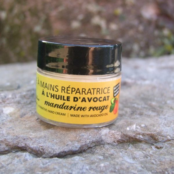 Red mandarine and avocado oil repairing handcream -The best handcream ever