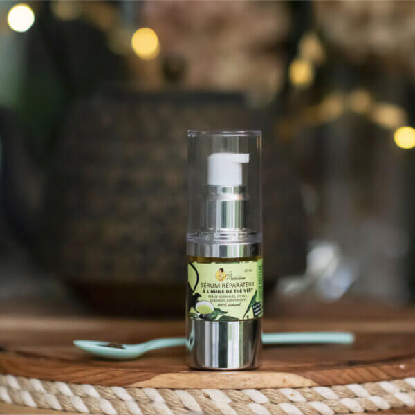 Green tea oil reparative face serum (normal to dry, rosacea and sensitive skin)