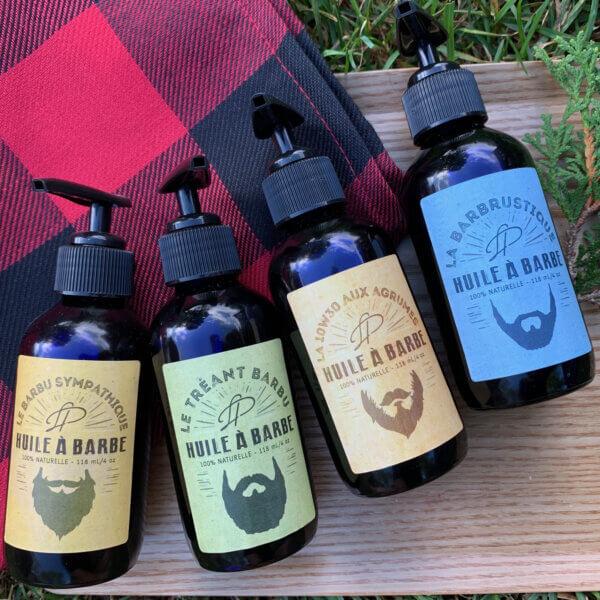 Huile à barbe adoucissante - 4 fragrances disponibles - Bientôt discontinuée