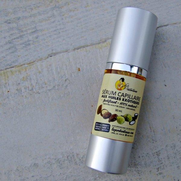 Exotic fortifying and repairing hair serum